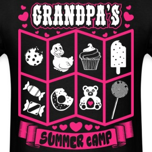 Grandpas Summer Camp T-Shirts - Men's T-Shirt
