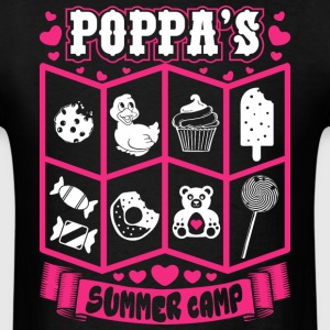 Poppas Summer Camp T-Shirts - Men's T-Shirt