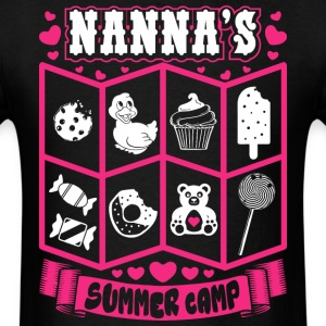 Nannas Summer Camp T-Shirts - Men's T-Shirt