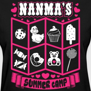 Nanmas Summer Camp T-Shirts - Women's T-Shirt