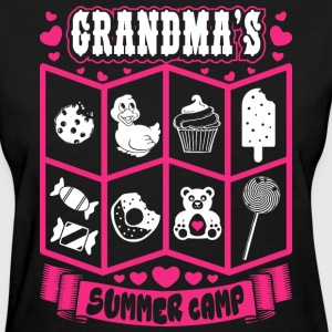 Grandmas Summer Camp T-Shirts - Women's T-Shirt
