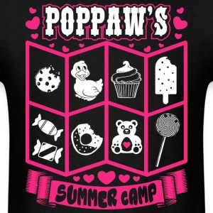 Poppaws Summer Camp T-Shirts - Men's T-Shirt