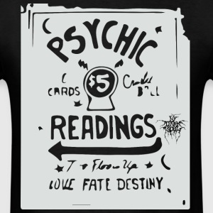 Psychic readings retro sign - Men's T-Shirt