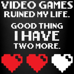 Video Games Ruined My Life Mugs & Drinkware - Full Color Mug