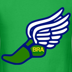 BRAZIL TRACK AND FIELD T-Shirts - Men's T-Shirt