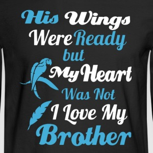 Wings Brothers Shirt - Men's Long Sleeve T-Shirt