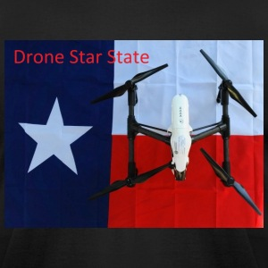 Drone Star State Logo T-Shirts - Men's T-Shirt by American Apparel