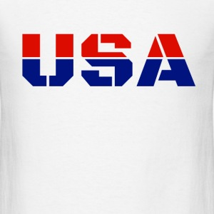USA. T-Shirts - Men's T-Shirt