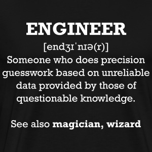 Engineer wizard shirt - Men's Premium T-Shirt