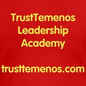 TrustTemenos Leadership Academy - Women Red - Women's Premium T-Shirt