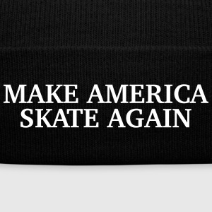 Make America Skate Again Sportswear - Knit Cap with Cuff Print