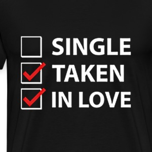 IN LOVE CHECK LIST - Men's Premium T-Shirt