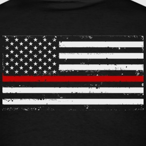Thin Red Line Firefighter - Men's T-Shirt
