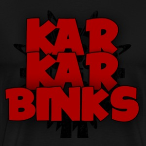 KarKar-Binks Logo - Men's Premium T-Shirt