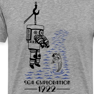 SEA EXPLORATION 1922 - Men's Premium T-Shirt