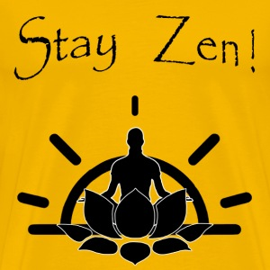 Stay Zen Lotus - Men's Premium T-Shirt