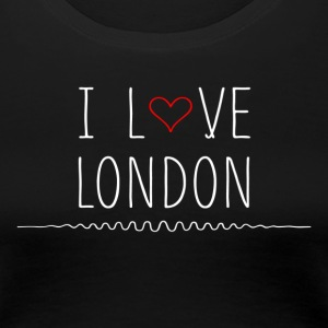 I Love London T-Shirts - Women's Premium T-Shirt
