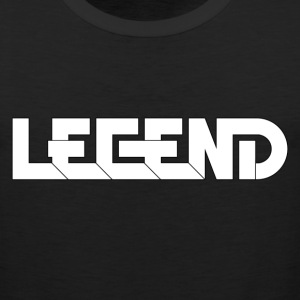 Legend Logo Black Outline (YouTube RelicVids) Sportswear - Men's Premium Tank