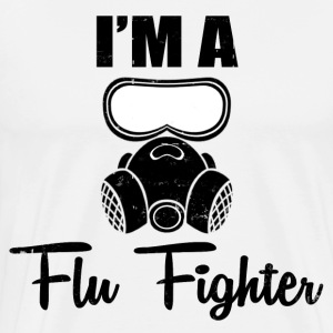 FLU FIGHTER - Men's Premium T-Shirt