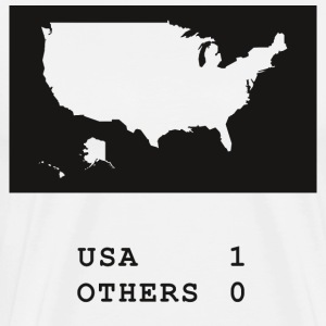 USA always wins - Men's Premium T-Shirt