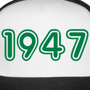 1947, Numbers, Year, Year Of Birth Sportswear - Trucker Cap