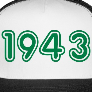1943, Numbers, Year, Year Of Birth Sportswear - Trucker Cap