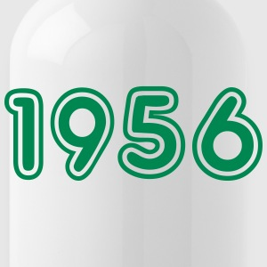 1956, Numbers, Year, Year Of Birth Sportswear - Water Bottle