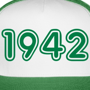 1942, Numbers, Year, Year Of Birth Sportswear - Trucker Cap