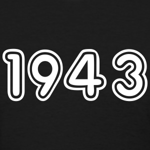 1943, Numbers, Year, Year Of Birth T-Shirts - Women's T-Shirt