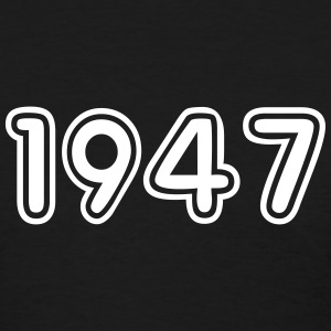 1947, Numbers, Year, Year Of Birth T-Shirts - Women's T-Shirt