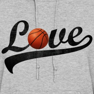 love basketball - Women's Hoodie