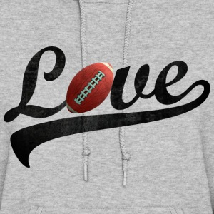 love football - Women's Hoodie