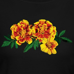 Three French Marigolds Long Sleeve Shirts - Women's Long Sleeve Jersey T-Shirt