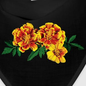Three French Marigolds Caps - Bandana