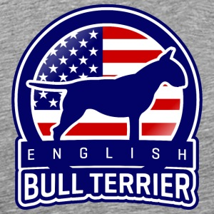 Bull Terrier USA T-Shirts - Men's Premium T-Shirt