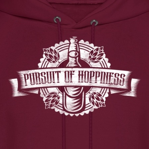 Pursuit of Hoppiness Beer - Men's Hoodie