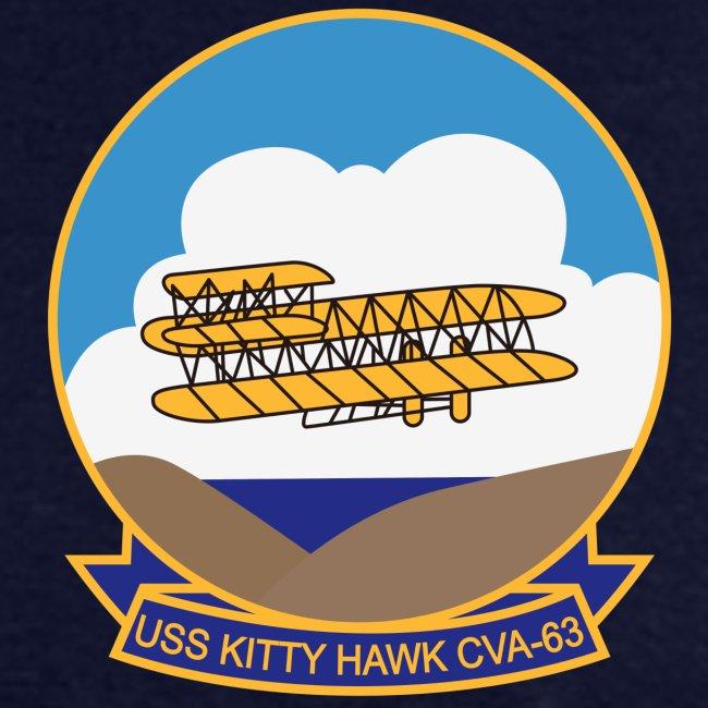 USS KITTY HAWK CVA-63 COMBAT CRUISE 1972 CRUISE SHIRT