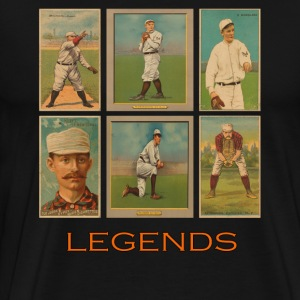 NY - SF Baseball Legends - Men's Premium T-Shirt
