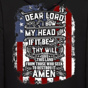 Dear Lord Amen - Men's Hoodie
