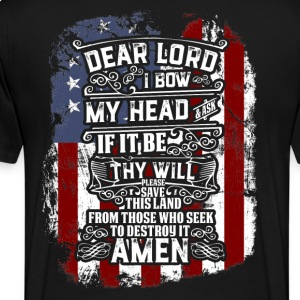 Dear Lord Amen - Men's Premium T-Shirt