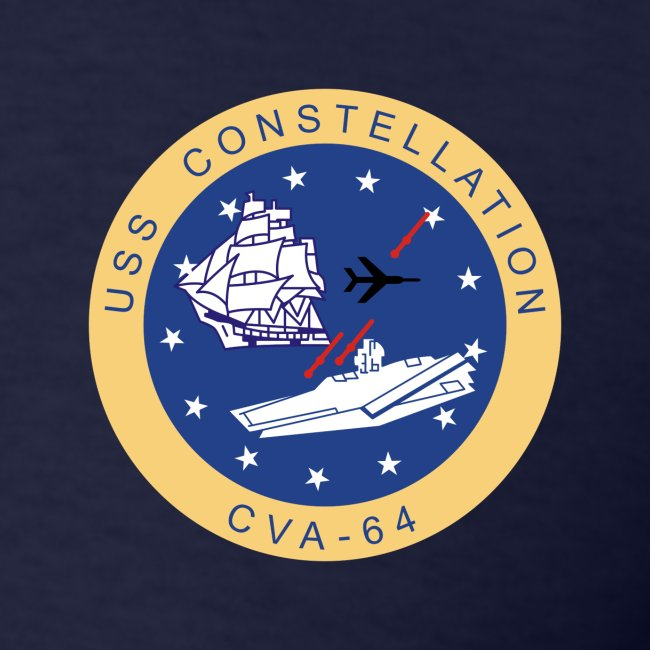 USS CONSTELLATION CVA-64 COMBAT CRUISE 1969-70 CRUISE SHIRT