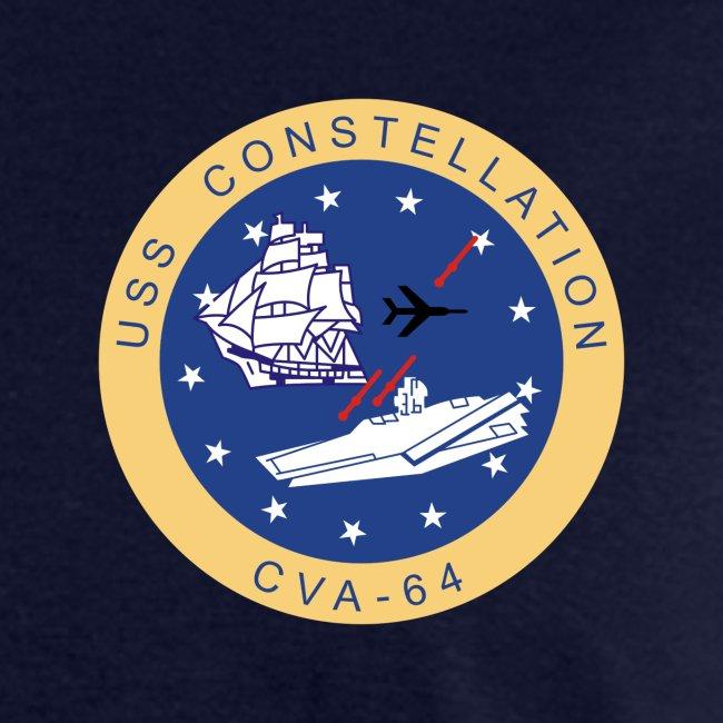 USS CONSTELLATION CVA-64 COMBAT CRUISE 1971-72 CRUISE SHIRT