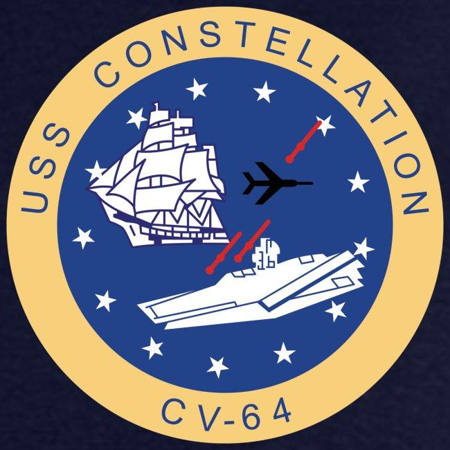 USS CONSTELLATION CV-64 WESTPAC/I.O. CRUISE 1987 CRUISE SHIRT