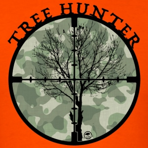 Tree Hunter - Men's T-Shirt