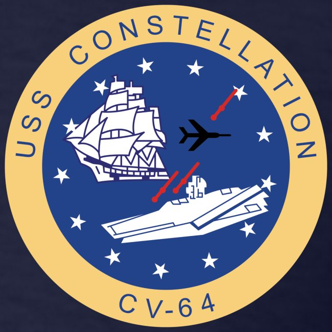 USS CONSTELLATION CV-64 WESTPAC/I.O. CRUISE 1980 CRUISE SHIRT - GONZO STATION GRAPHIC