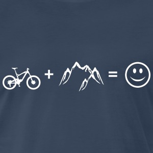 Bike – Mountain – Love (dh) - Men's Premium T-Shirt