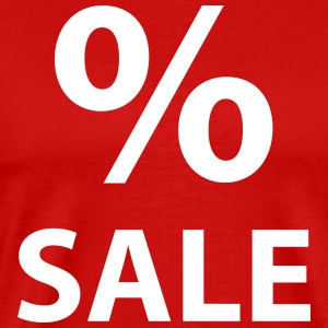 Sale % – Man Shirt (dh) - Men's Premium T-Shirt