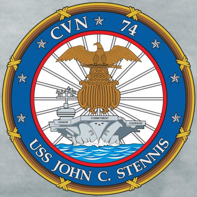 USS JOHN C STENNIS 2007 CRUISE SHIRT