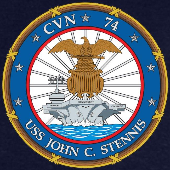 USS JOHN C STENNIS 2001-02 CRUISE SHIRT