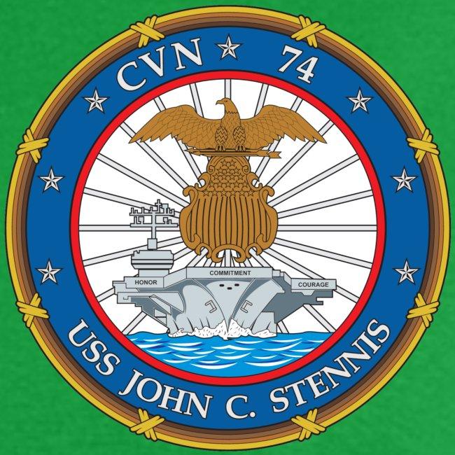 USS JOHN C STENNIS 2000 CRUISE SHIRT